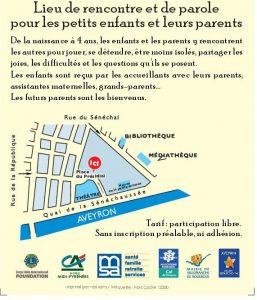 Laep la passerelle Villefranche de Rouergue Place du Présidial